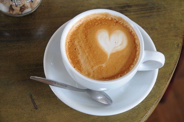 Heart shape in a coffee © Philip Halling cc-by-sa/2.0 ...
