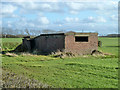 SP6724 : Military-looking  building near Charndon by Robin Webster