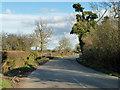 SP6726 : Road towards Steeple Claydon by Robin Webster