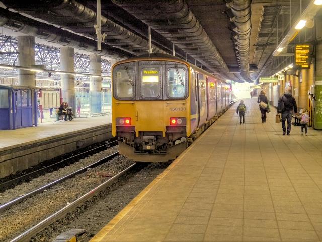 Manchester Victoria Station Platform 6 U00a9 David Dixon  Geograph Britain And Ireland