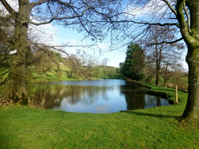 Private fishing pond rude health geograph britain and for Private fishing ponds near me