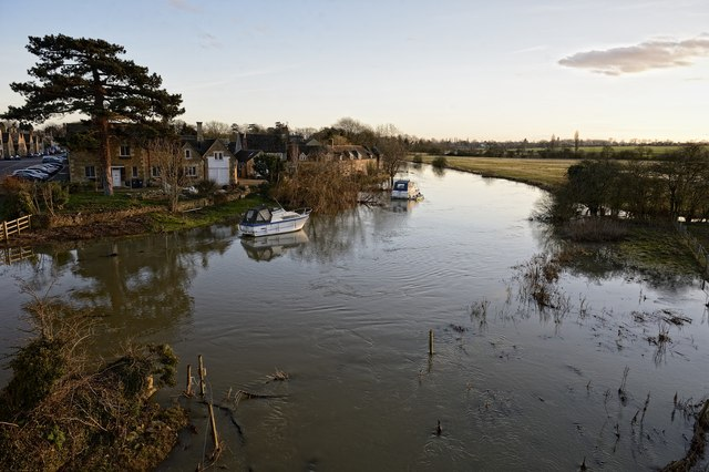 River Nene, Wansford