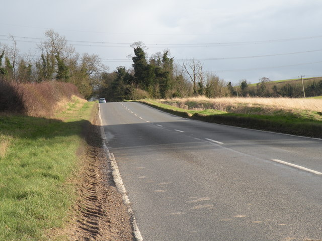 Balsham Road heading towards Balsham village