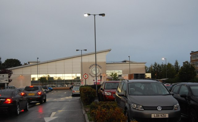 Southbury Leisure Centre N Chadwick Geograph Britain And Ireland