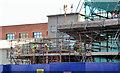 J3374 : Block B, University of Ulster site, Belfast - February 2014 by Albert Bridge
