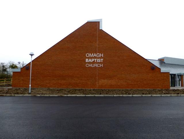 Omagh Baptist Church (gable view)