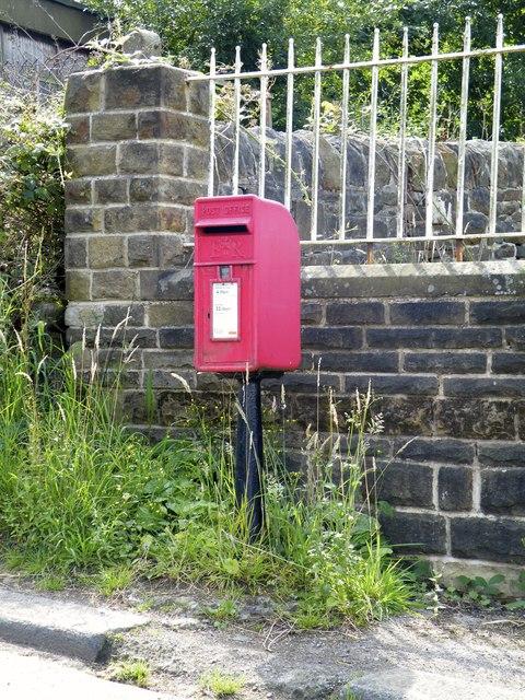 Village Post Box, Mortimer Road, Midhopestones, near Stocksbridge