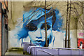 J3374 : Mural, the North Street Arcade, Belfast by Albert Bridge