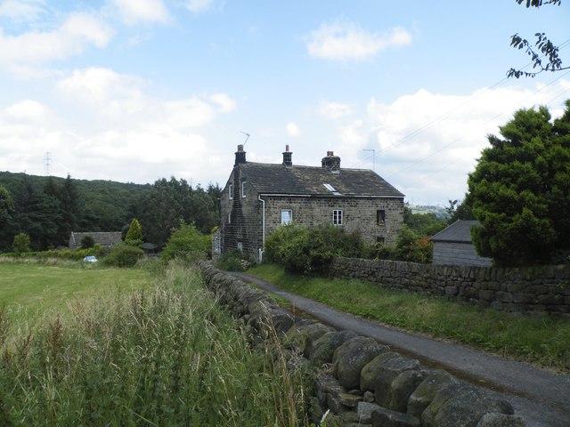 Farmhouse on Miller Lane, off Mortimer Road, Midhopestones, near Stocksbridge