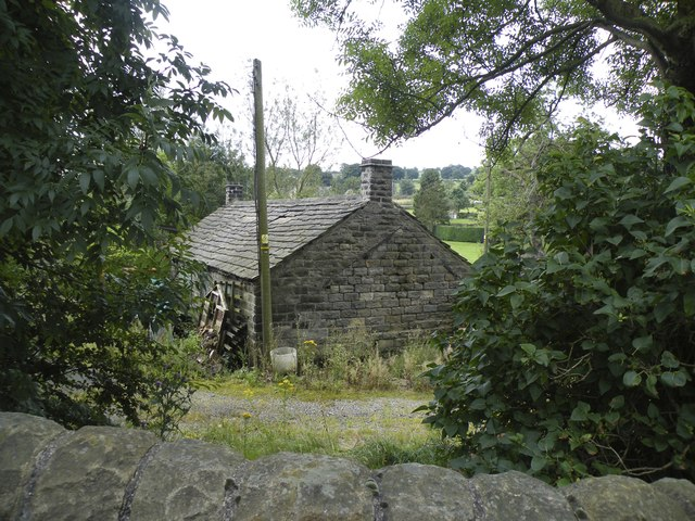 Cottage on Mortimer Road, viewed from A616, Midhopestones, near Stocksbridge