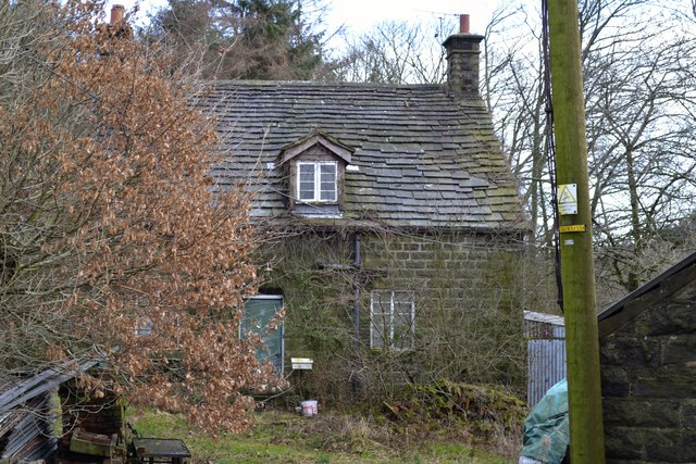 Holme Cottage viewed from Mortimer Road, Midhopestones, near Stocksbridge