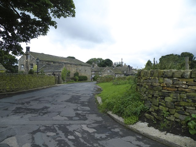 Upper Midhope Village, viewed from Midhope Lane … near Midhopestones and Stocksbridge