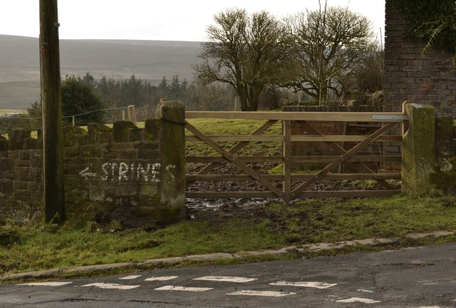 Strines … It's This Way, Upper Midhope, near Stocksbridge - 2