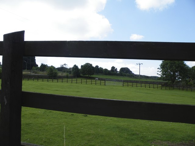 Fence and Fields, off Mortimer Road, Midhopestones, near Stocksbridge