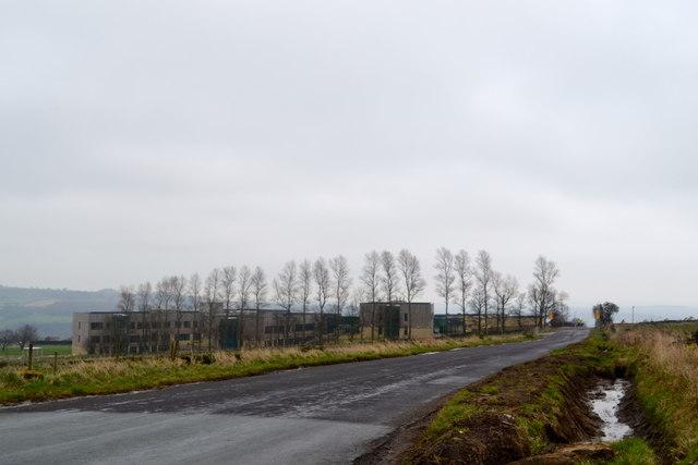 Bradfield School, from Darwent Lane, Worrall, near Oughtibridge