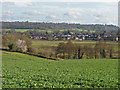 TQ0147 : View towards Chilworth by Alan Hunt