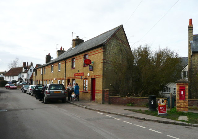 The post office, High Street, Pirton