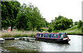 SO8963 : Canal moorings in Droitwich Spa, Worcestershire by Roger  Kidd