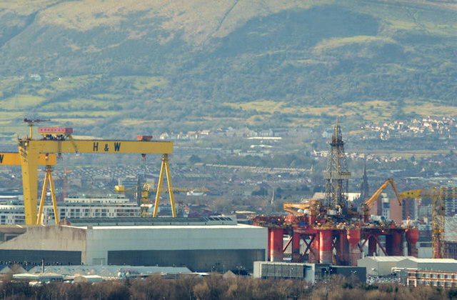 "The ""Blackford Dolphin"", Harland & Wolff, Belfast (March 2014)"
