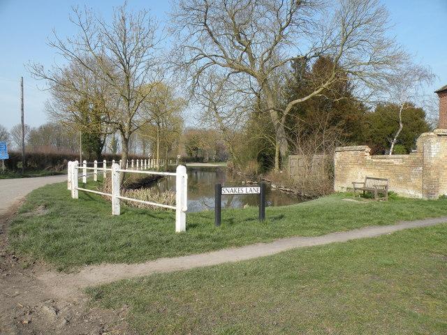 The village pond at Harlton
