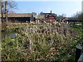 TL2377 : Pond in Abbots Ripton by Richard Humphrey