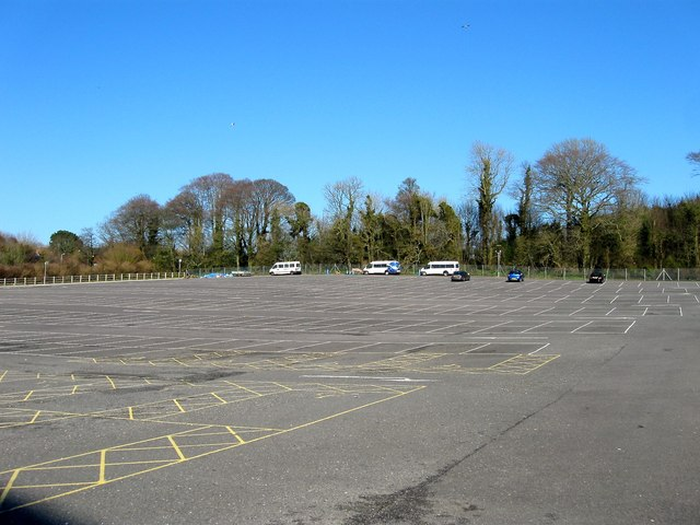 Stanmer Car Park Sussex Uni