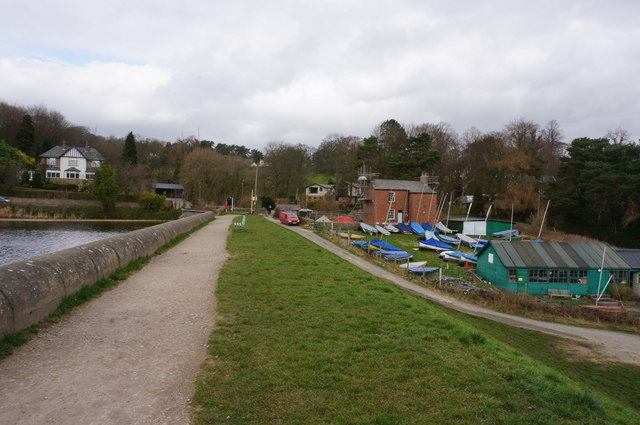 Toddbrook Reservoir Yacht Club And Peter Barr Cc By