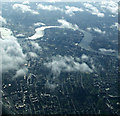 TQ3683 : The Isle of Dogs from the air by Thomas Nugent