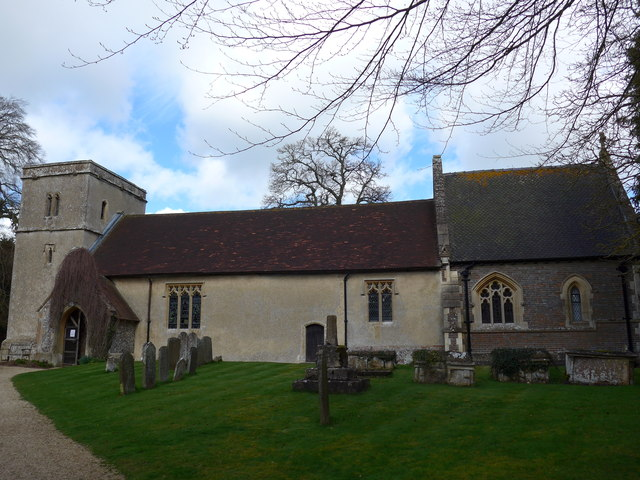 St Andrew, Chaddleworth: March 2014