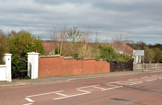 Holywood Road/Station Road site, Belfast - March 2014(1)