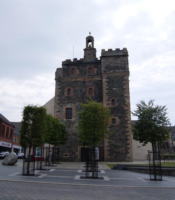 Castle in Stranraer