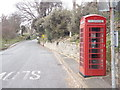 SZ5376 : St. Lawrence: phone box on the A3055 by Chris Downer
