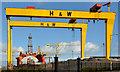 "J3575 : The ""Blackford Dolphin"", Harland & Wolff, Belfast - March 2014(2) by Albert Bridge"