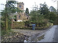 SJ9764 : Swythamley Chapel from lane by Colin Pyle