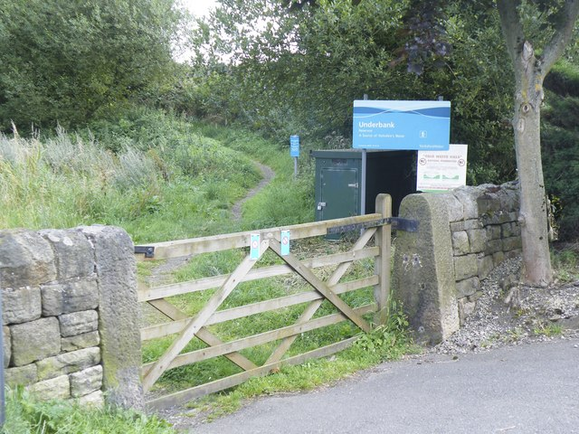 Path to Underbank Reservoir, Mortimer Road, Midhopestones, near Stocksbridge