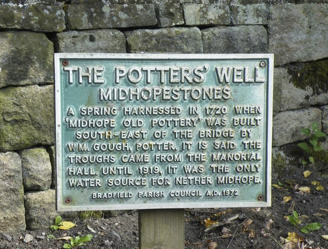 The Potters' Well, Mortimer Road, Midhopestones, near Stocksbridge - 1