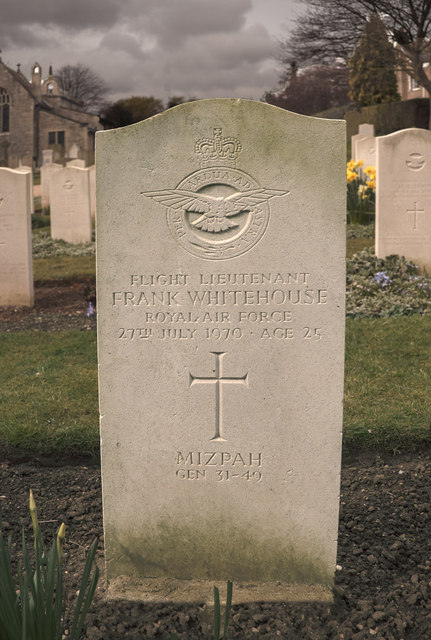 An Airman's Last Resting Place - Cranwell