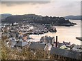NM8630 : View from McCaig's Tower by David Dixon