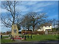 SO1601 : War Memorial, Markham (1) : Week 13