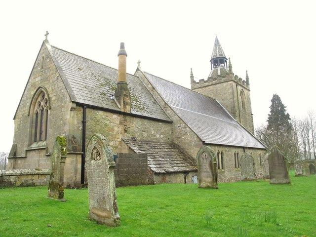 Church of St Giles, Chollerton