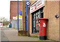 J3076 : Pillar box BT14 277, Belfast by Albert Bridge