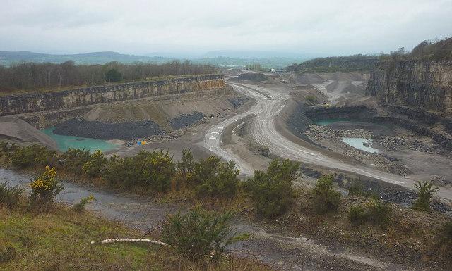 Holme Park Quarry In 2014