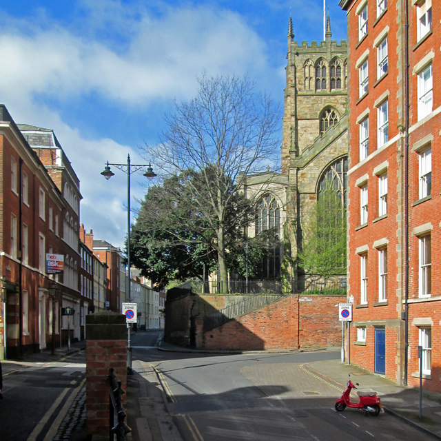 Hollowstone, High Pavement and St Mary's