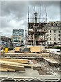 SJ8397 : Redeveloping St Peter's Square, St Peter's Cross (April 2014) : Week 14