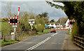 D0605 : Cullybackey South level crossing (April 2014) by Albert Bridge