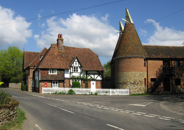 Cottage and Oast house