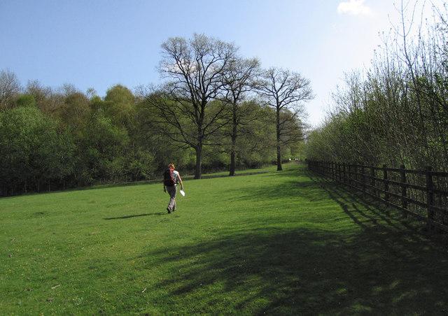 Walking near the M26