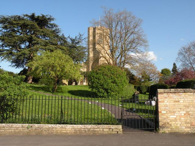 The parish church of St. Cyriac at Swaffham Prior