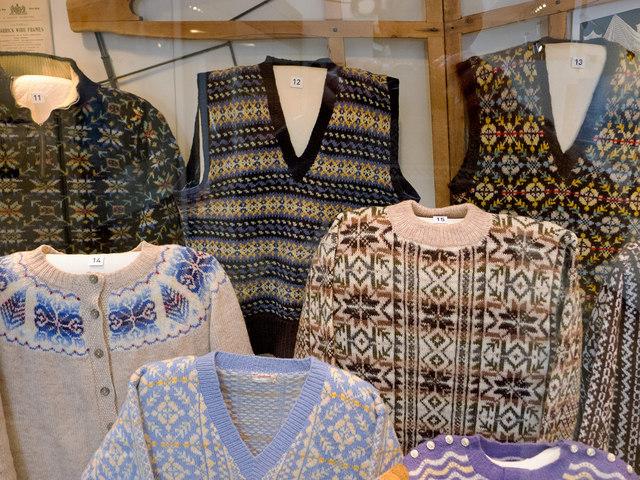 Fair Isle knitwear in the Shetland... © Julian Paren :: Geograph ...