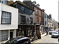 TQ8209 : High Street, Hastings Old Town by PAUL FARMER
